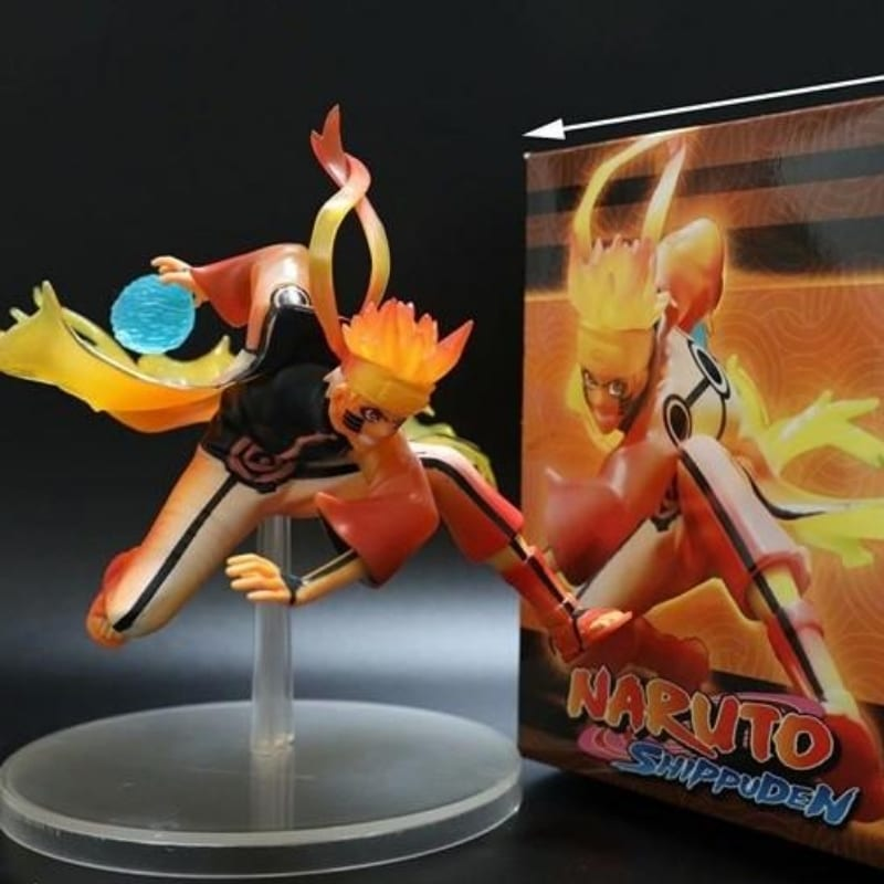 Figura Naruto Modo Kurama PT Naruto Shipudden Anime Sabio