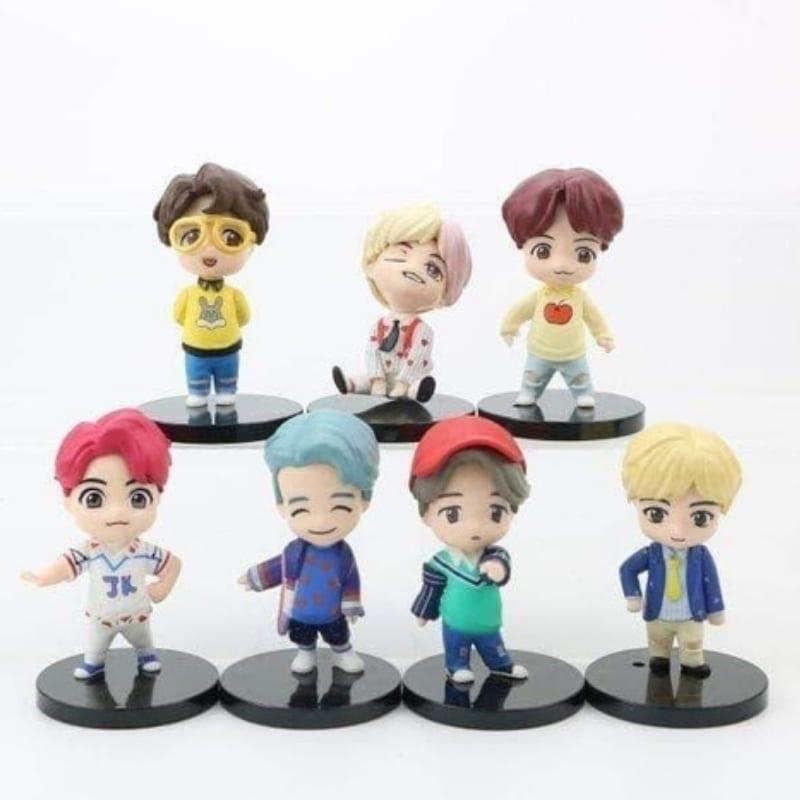 Set Figuras BTS PT Iconos X7 Pack 1