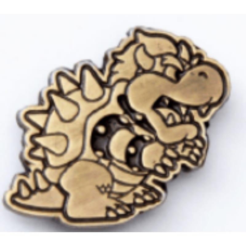 Pin Metálico Bowser Bric A Brac Super Mario bros Videojuegos