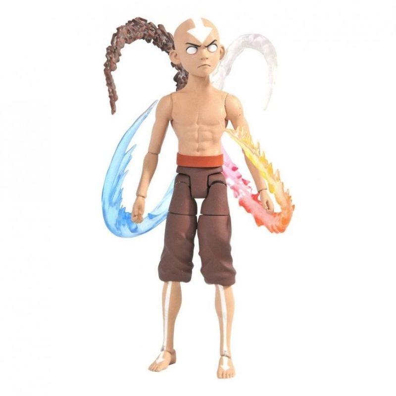Figura Articulada Aang Diamond Select Toys Avatar La Leyenda de Aang Anime