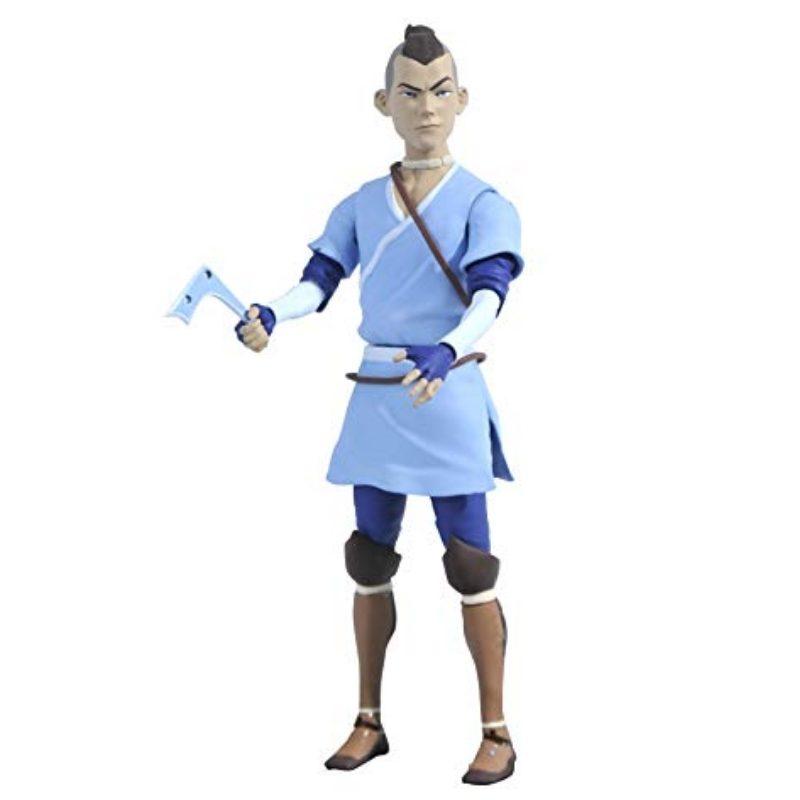 Figura Articulada Sokka Diamond Select Toys Avatar La Leyenda de Aang Anime