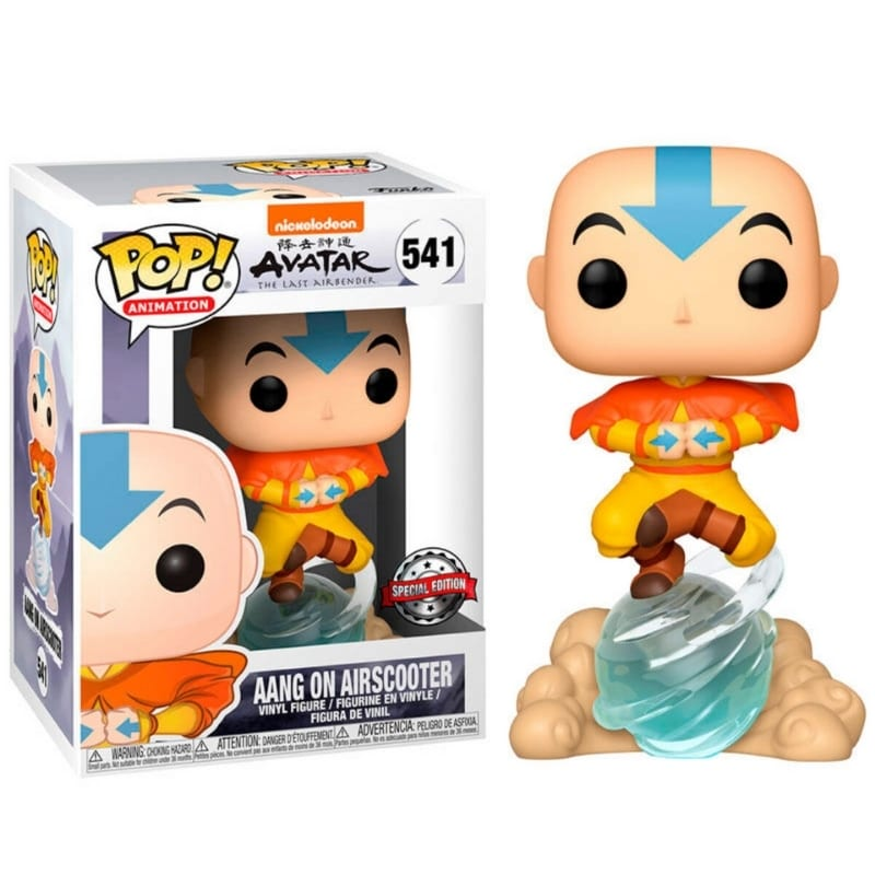 Figura Aang On Airscooter Funko POP Avatar La Leyende de Aang Anime Special Edition