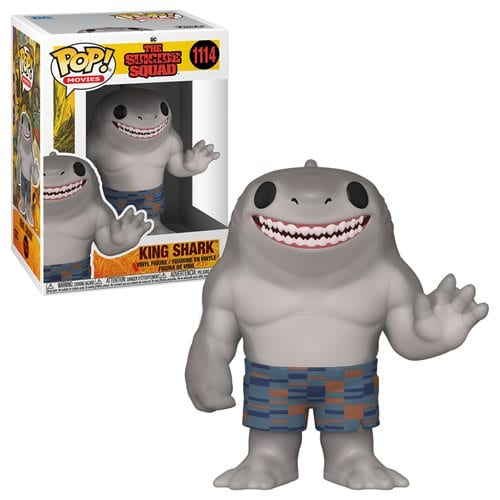 Figura King Shark Funko POP DC Comics The Suicide Squad (Pre-Venta Llegada Aproximada Agosto)