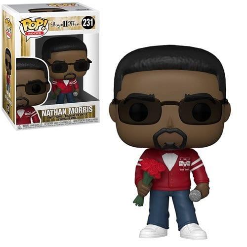 Figura Nathan Morris Funko POP Boyz II Men Iconos Exclusive (Pre-Venta Llegada Aproximada Septiembre)