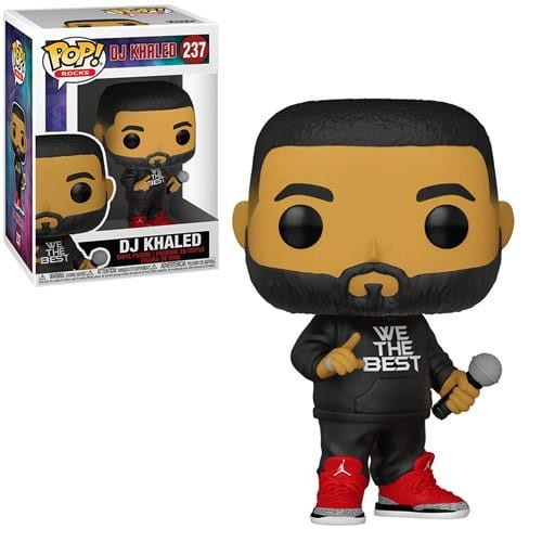 Figura Dj Khaled Funko POP Iconos Exclusive (Pre-Venta Llegada Aproximada Septiembre)