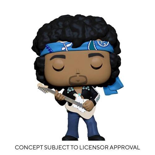 Figura Jimi Hendrix Funko POP Iconos (Pre-Venta Llegada Aproximada Diciembre )