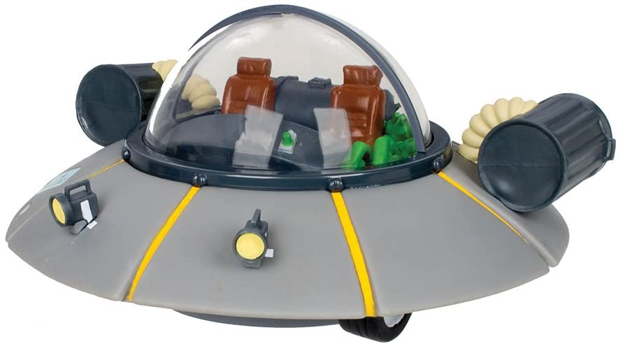 USAOPOLY Rick y Morty: Banco de la nave espacial de coches de Rick