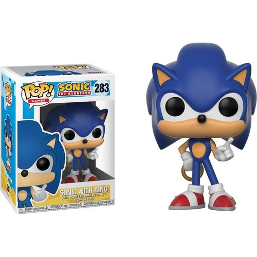 Figura Sonic With Ring Funko POP Videojuegos
