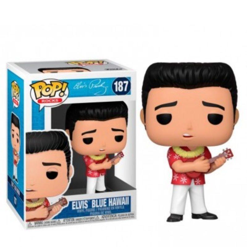 Figura Elvis Blue Hawaii Funko POP Musica