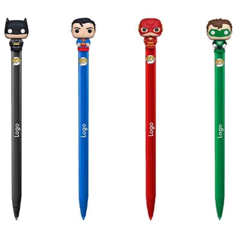 Esfero Flash, Batman, lInterna Verde, Superman DC Comics