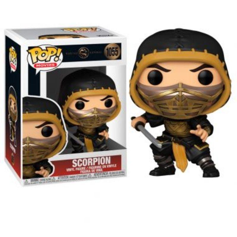 Figura Scorpion Funko POP Mortal Kombat Movies
