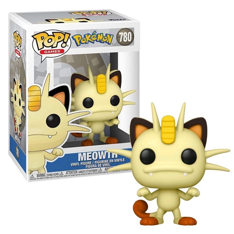Figura Meowth Funko POP Pokemon Anime