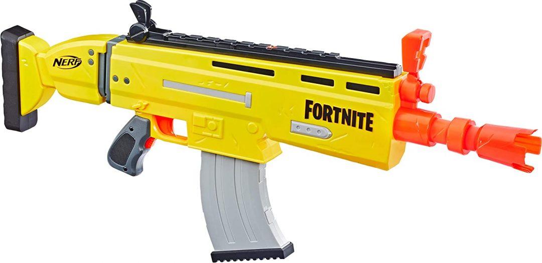 Pistola de juguete motorizada NERF Fortnite AR-L Elite Dart Blaster 20 dardos oficiales Fortnite Elite