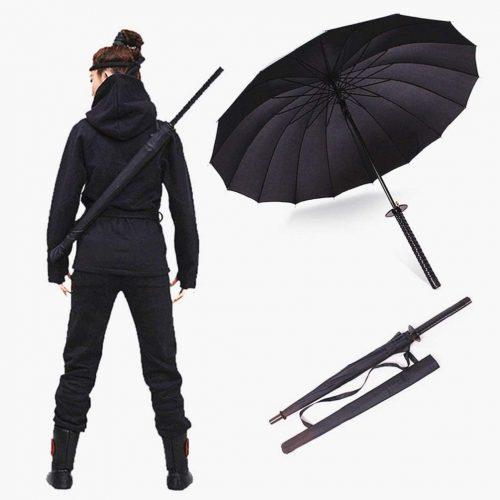 Paraguas De Espada Katana Samurai