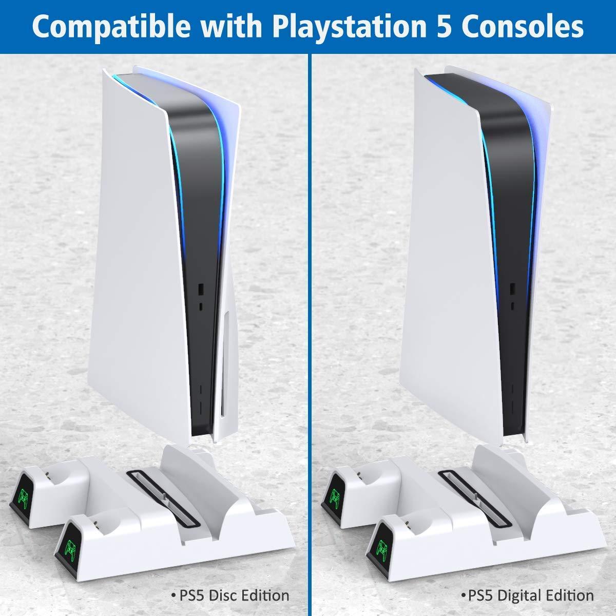 Soporte y Base refrigerante compatible con PS5