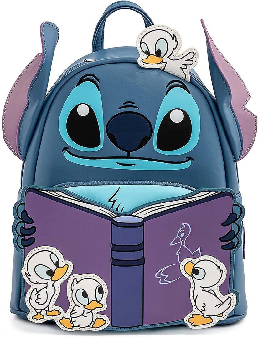 Maleta Loungefly  LILO Y STITCH STORY TIME DUCKIES MINI Disney