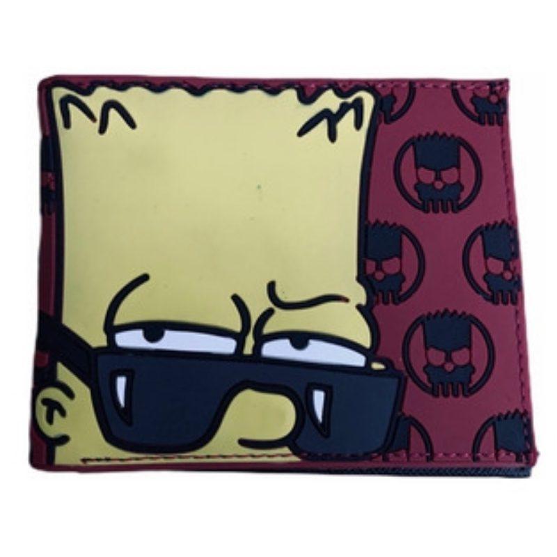 Billetera Goma Bart Simpson Bioworld Los Simpsons Animados