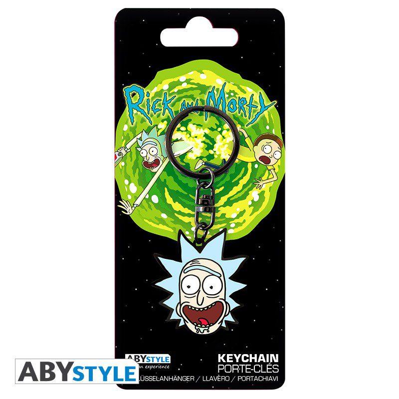 Llavero Rick AbyStyle Rick y Morty Animados