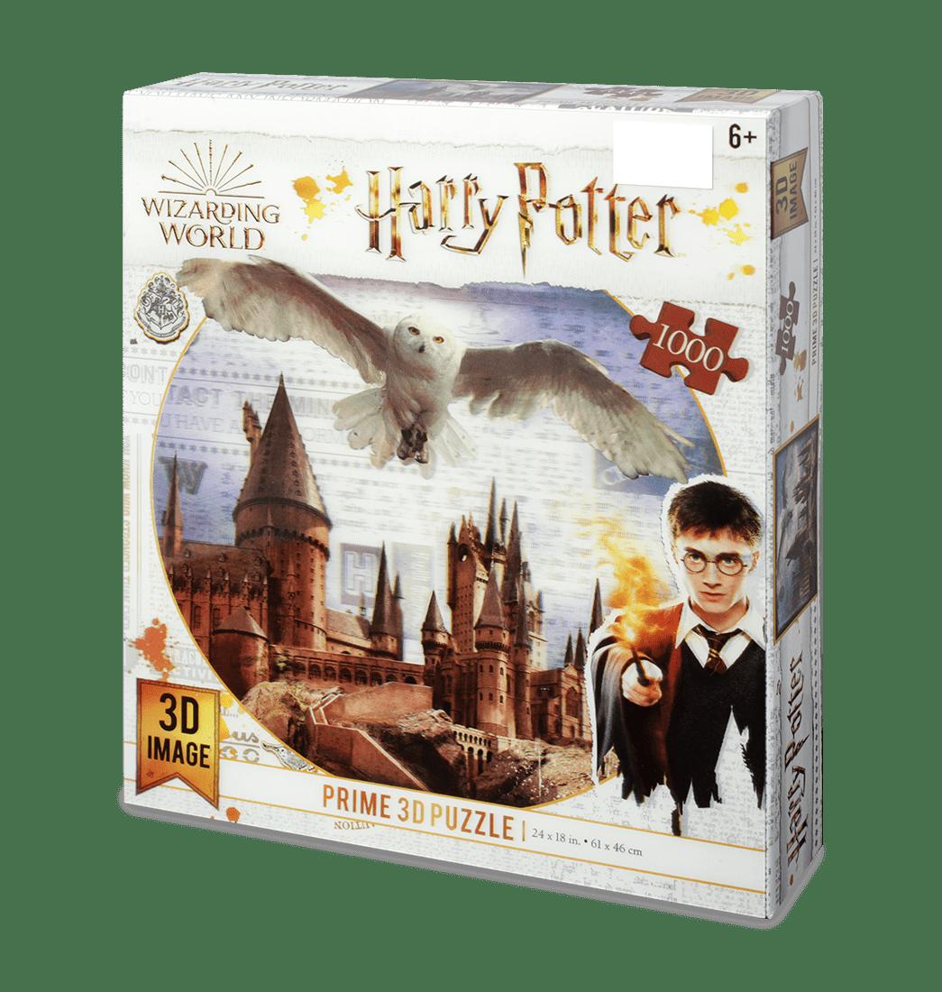 Rompecabezas Harry Potter Fantasìa Castillo Hogwarts Holograma prime 1000 Piezas