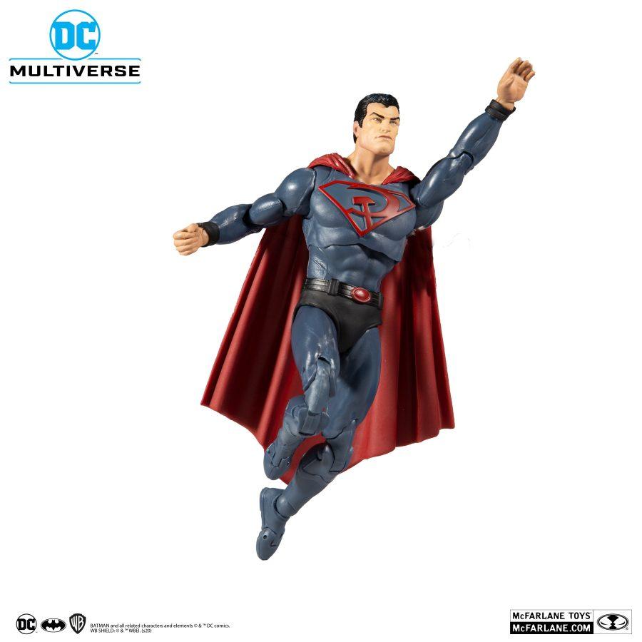 Figura Red Son Mc Farlane Superman Dc Comics Multiverse