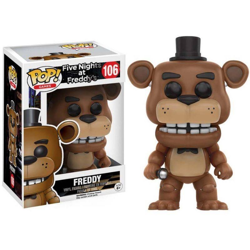 Figura Freddy Funko POP Five Nights At Freddys Videojuegos