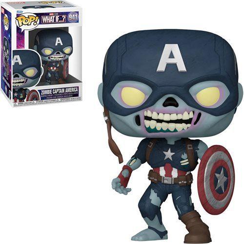Figura Zombie Captain America What if...? Funko Pop Marvel (Pre-Venta Llegada Aproximada Febrero - Marzo 2022)