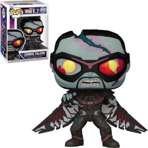 Figura Zombie Falcon What if...? Funko Pop Marvel (Pre-Venta Llegada Aproximada Diciembre 2021 - Enero 2022)