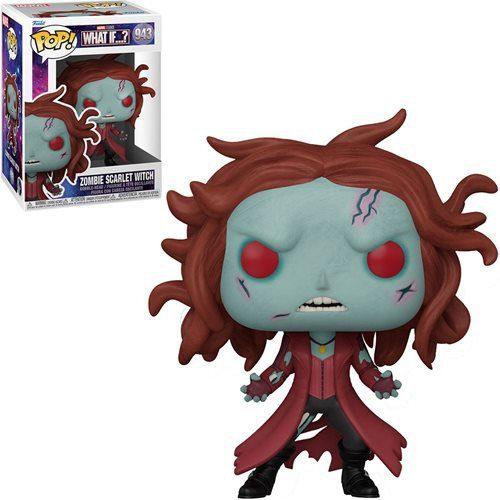 Figura Zombie Scarlet Witch What if...? Funko Pop Marvel (Pre-Venta Llegada Aproximada Diciembre 2021 - Enero 2022)