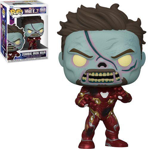 Figura Zombie Iron Man What if...? Funko Pop Marvel (Pre-Venta Llegada Aproximada Febrero - Marzo 2022)