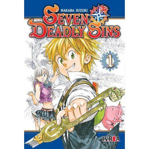 Manga Seven Deadly Sins 1 Ivrea 7 Pecados Capitales Anime