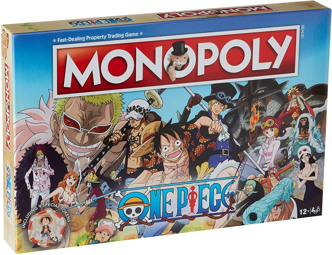 Monopoly One Piece Anime