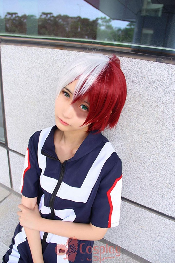 Cosplay My Hero Academia Gimnasia Uniformes Disfraz (Izuku shoto Katsuki)
