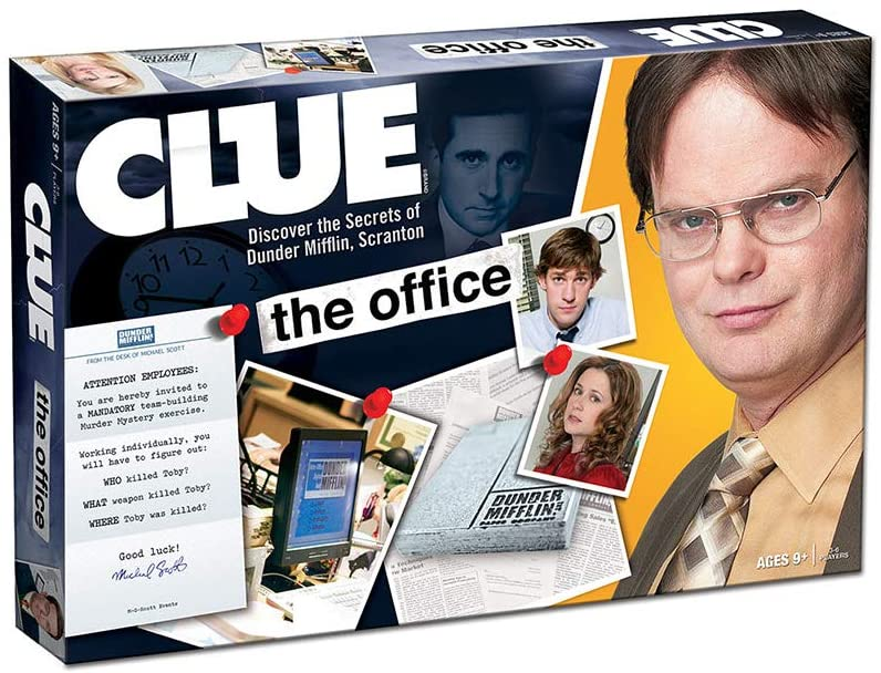 CLUE Hasbro The Office Edition Board Game