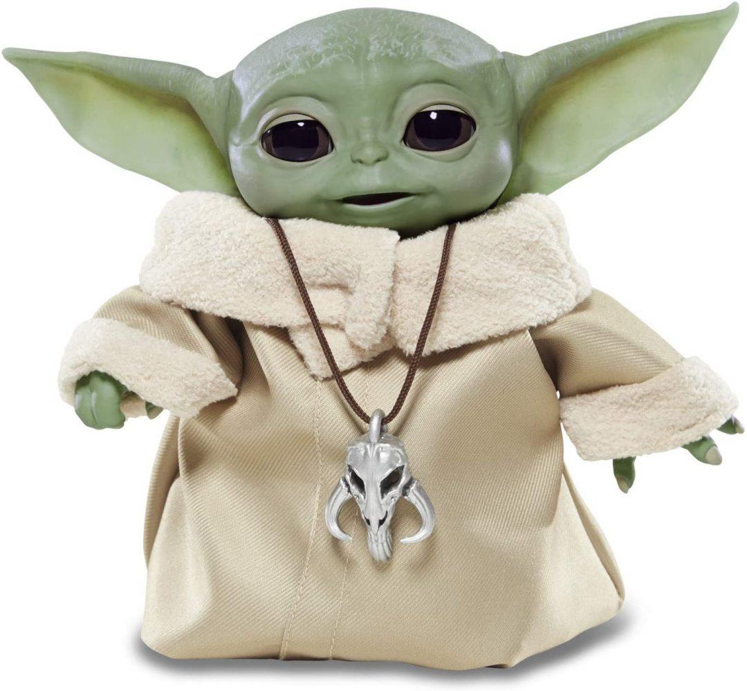 Figura Animatronica Baby Yoda Grogu Star Wars Hasbro  25 combinaciones de sonido y movimiento