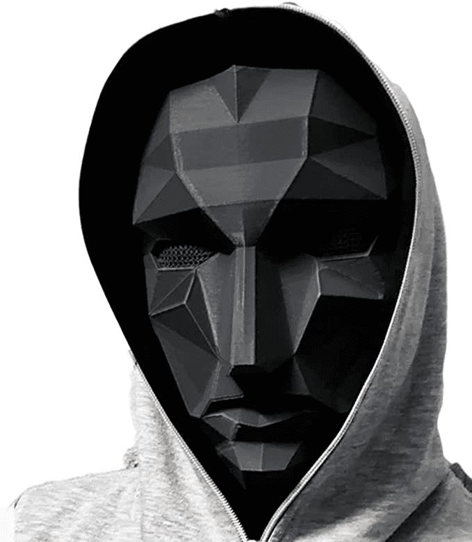 Máscara Cosplay El Juego del Calamar El lider