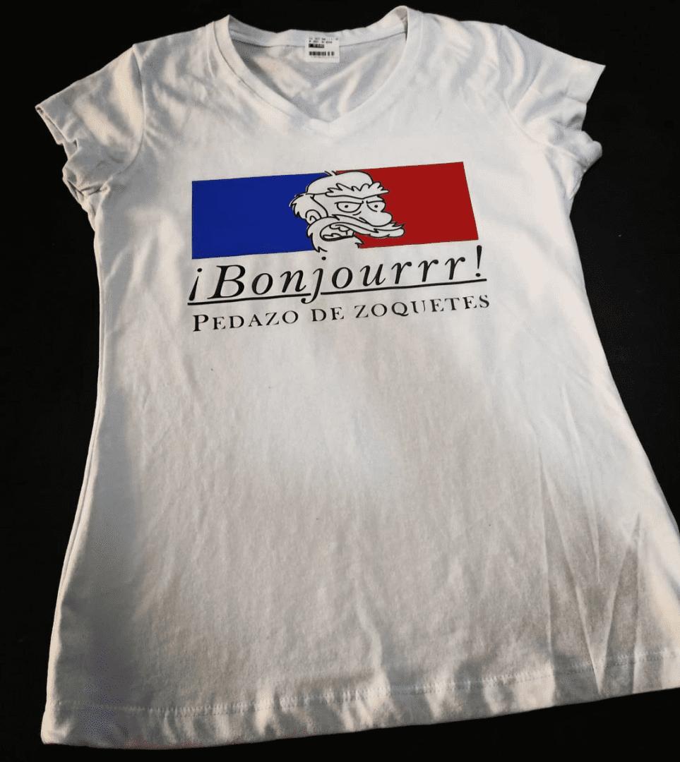 Camiseta Bonjourrr Pedazo de Soquetes