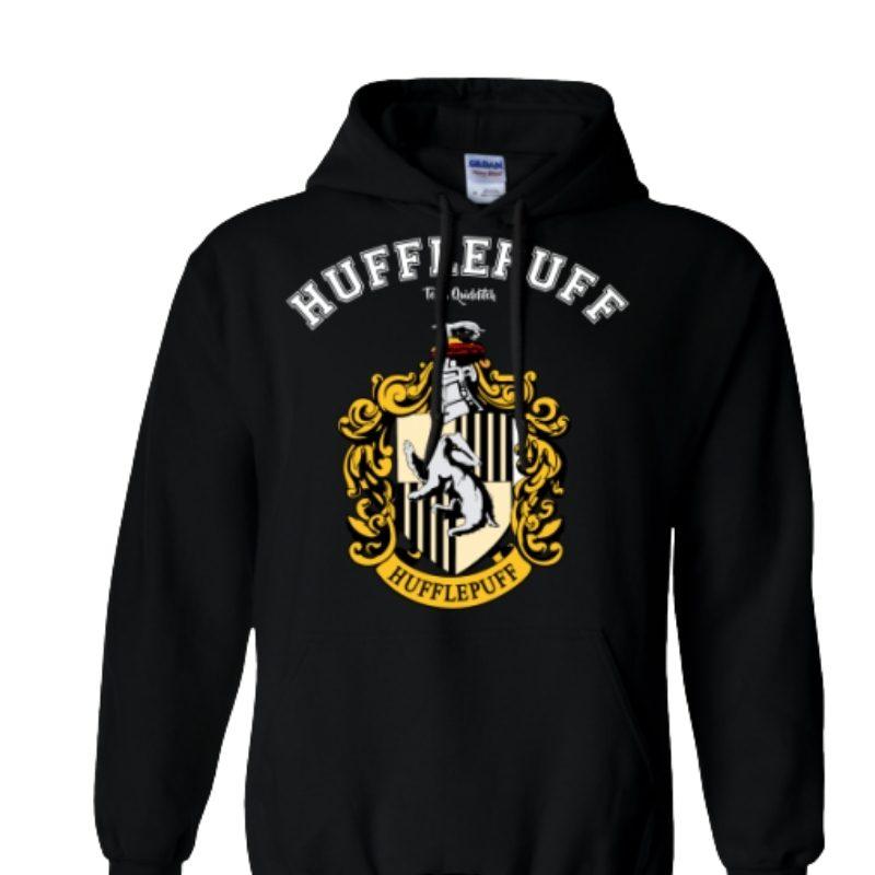 Hoodie Hufflepuff Jaimito Harry Potter Fantasia Talla M