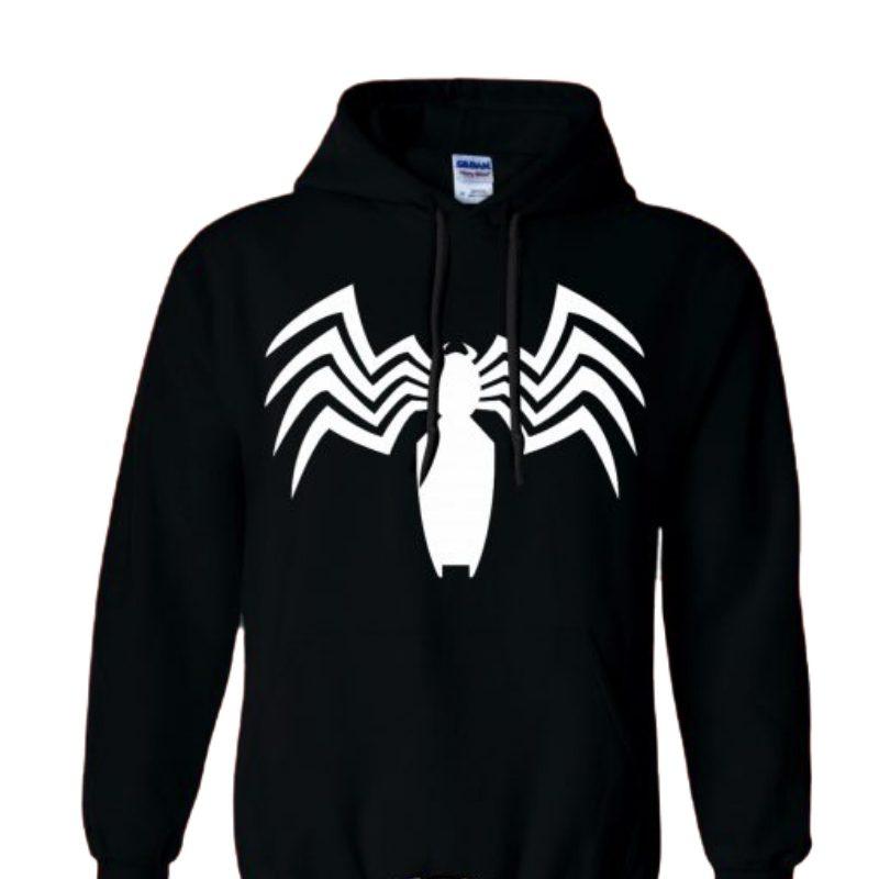 Hoodie Logo Spider Man Jaimito Avengers Marvel Talla M