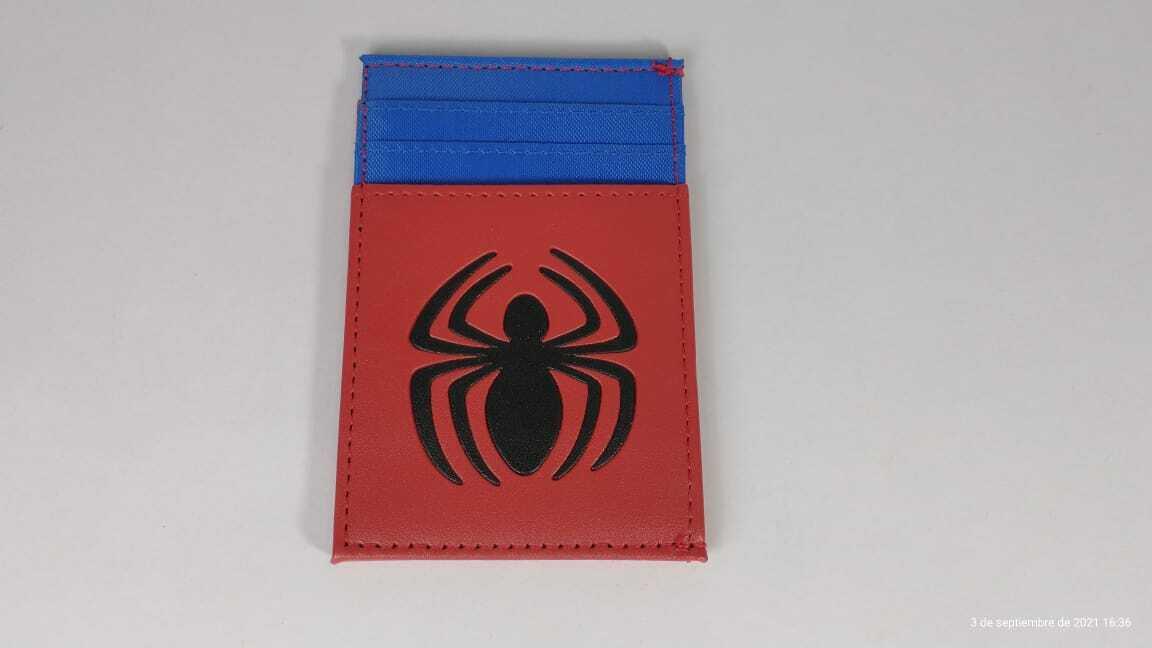 Portadocumentos Spider-man Marvel Color Rojo y Azul
