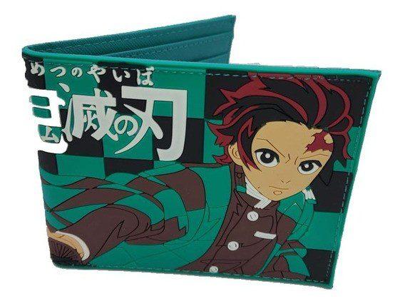 Billetera Tanjiro Kimetsu No Yaiba Anime Goma (copia)