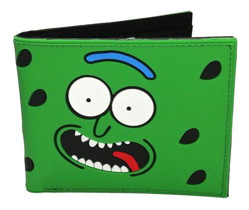 Billetera Pepinillo Rick Rick y Morty Animados Goma (copia)