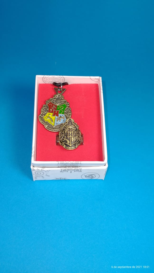 Set Hogwarts Harry Potter Fantasía Collar y Anillo (copia)