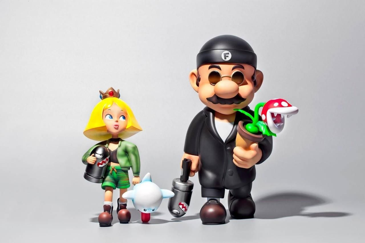 Set Figura Mario Bros Videojuegos Leon The Professional