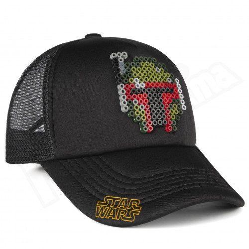 Gorra Malla Boba Feet pictograma Star Wars Pixel Art