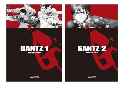Manga Gantz Panini Anime Pack X 2 Primeros Tomos