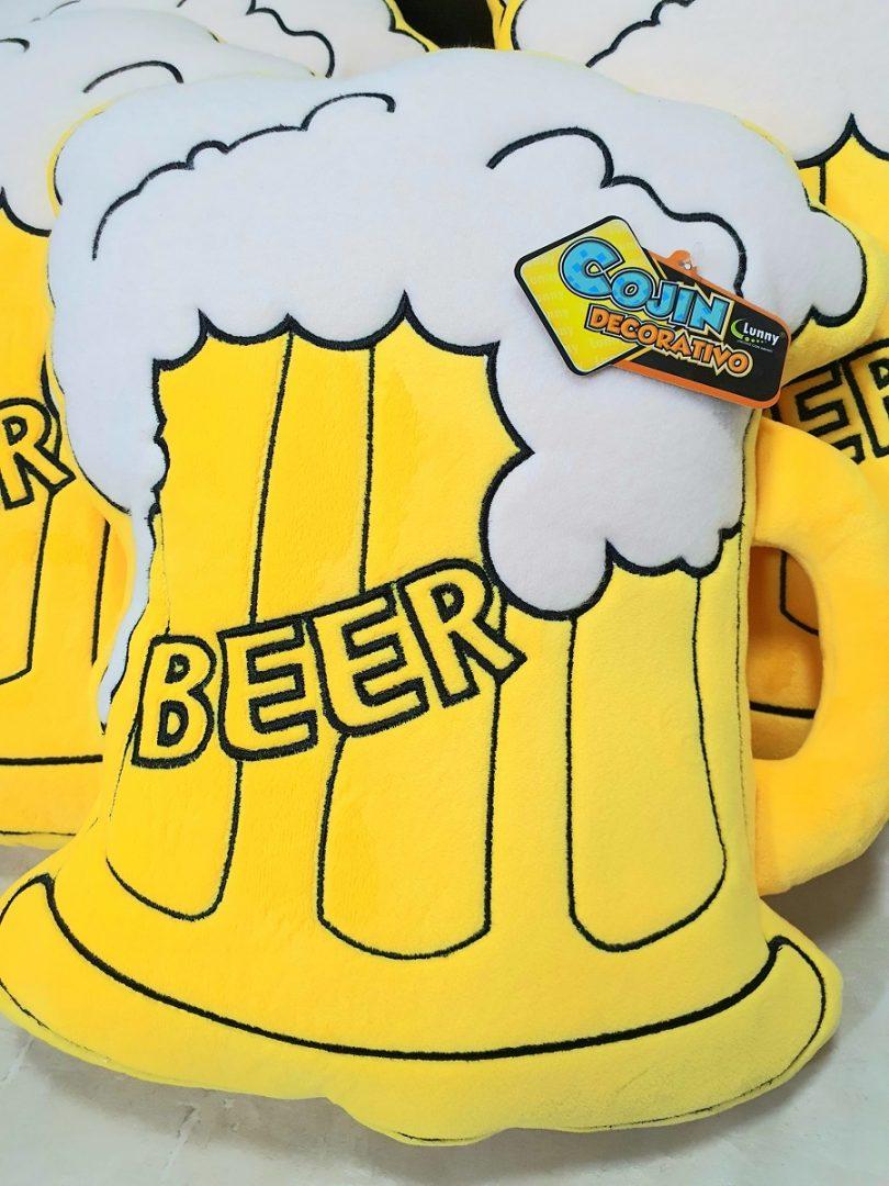 Cojín Cerveza Lunny Los Simpsons Animados