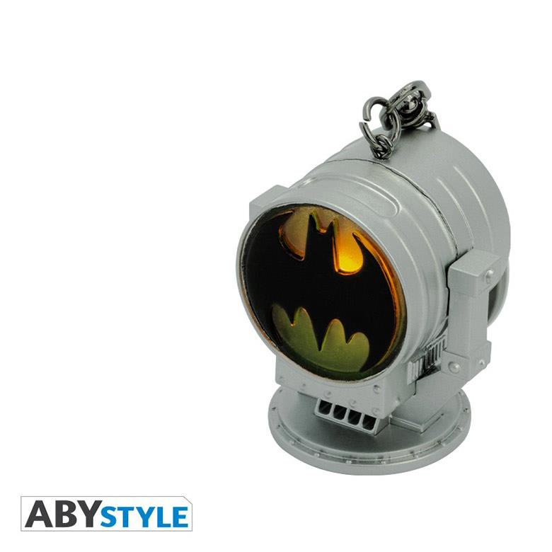 Llavero Bat-Signal AbyStyle Batman DC Comics Con Luz
