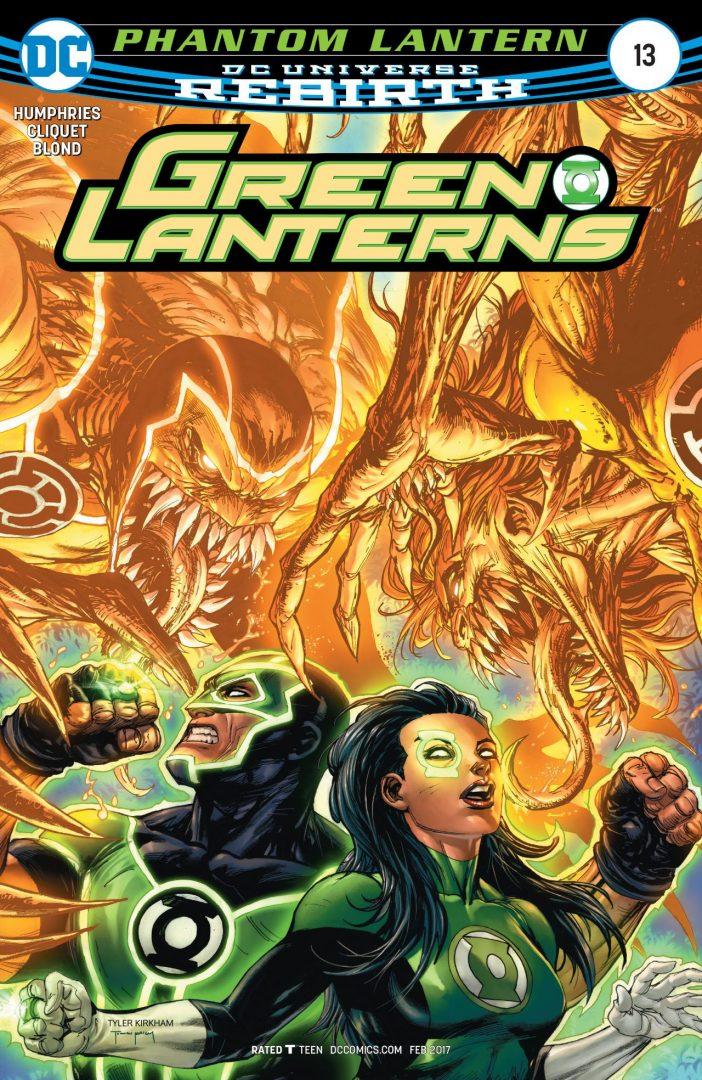 Revistilla Green Lantern # 13 Rebirth DC Comics