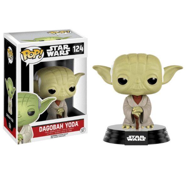 Figura Dagobah Yoda Funko Pop Star Wars