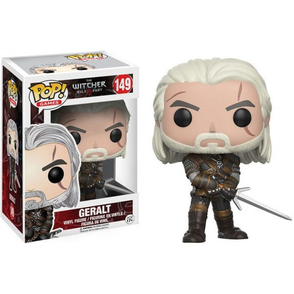 Figura Geralt Funko POP The Witcher Videojuegos